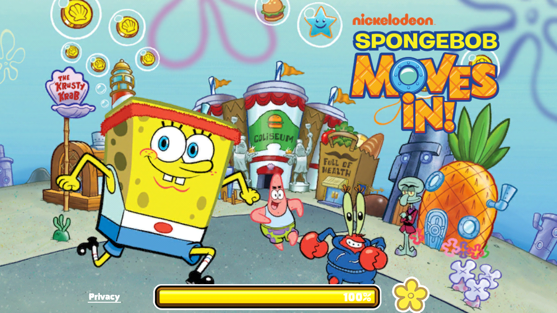 Image result for SpongeBob Moves In